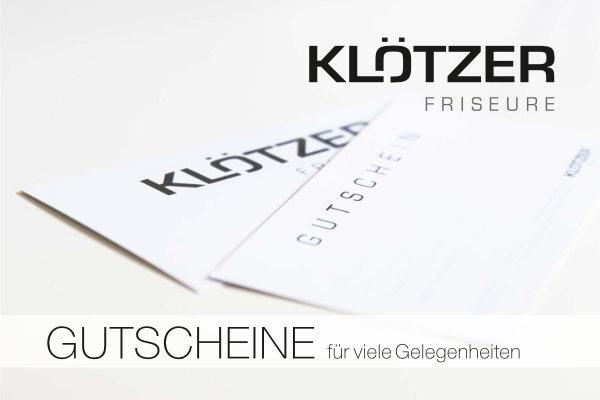 Klötzer Friseur Gutschein